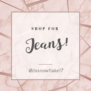Shop for Jeans!👖